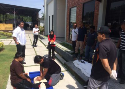 Occupational First Aid Training at Eng Lian by OHS Network Sdn Bhd (51)